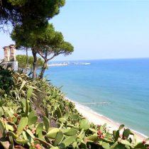 Parcela con impresionantes vistas al mar en Arenys de mar.
