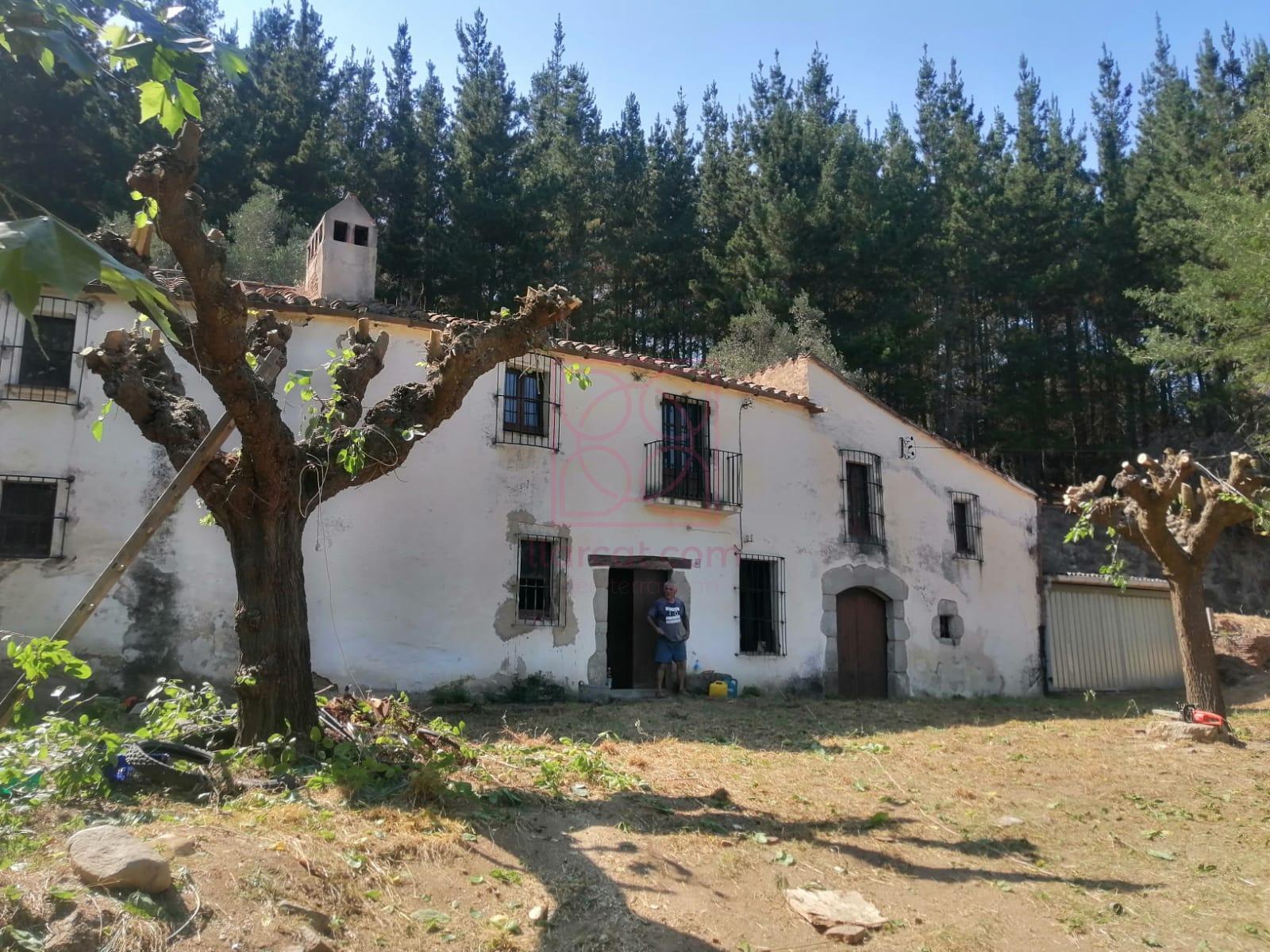 Masia a la venta en Sant Iscle de Vallalta